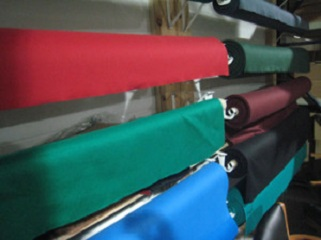 Pool table refelting, felt material colors, Minneapolis SOLO Pool Table Movers