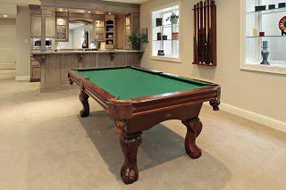 Pool table installers SOLO in Minneapolis