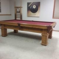 Golden West Billiards MFG Pool Table.