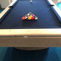 Olhausen Black Felt Pool Table