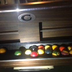 Full Size Slate Gandy Ball Return Pool Table